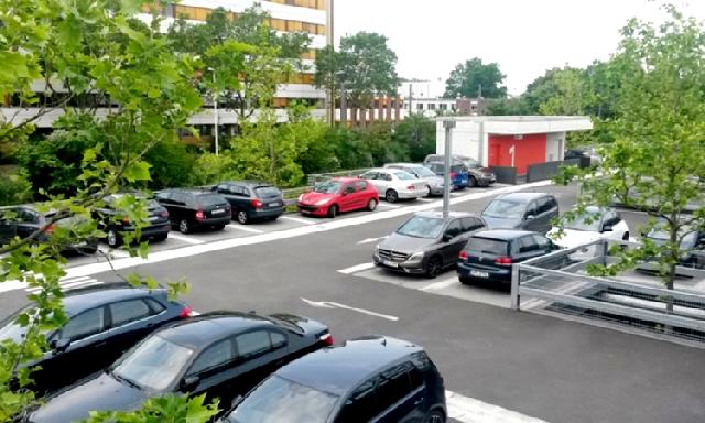 Anwendungsbeispiel einer Parkdeckabdichtung