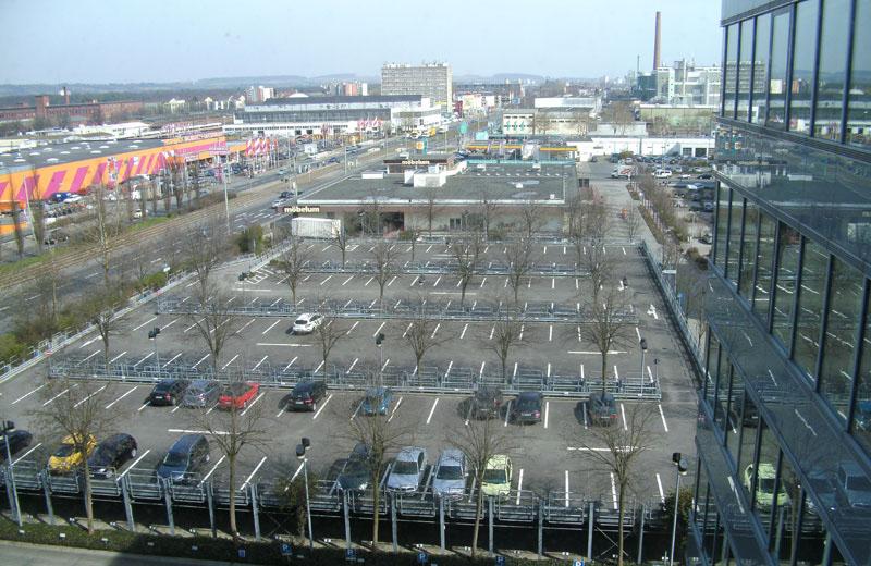 Parkdeckabdichtung bei Neckermann in Frankfurt am Main